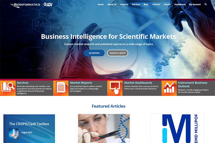 BioInformatics LLC website