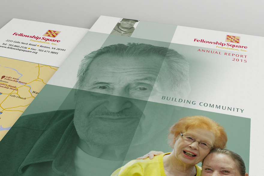 Fellowship Square Annual Report cover