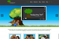 Handwriting Tree website