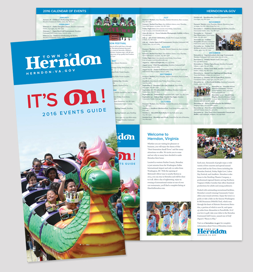 Herndon Events Guide front