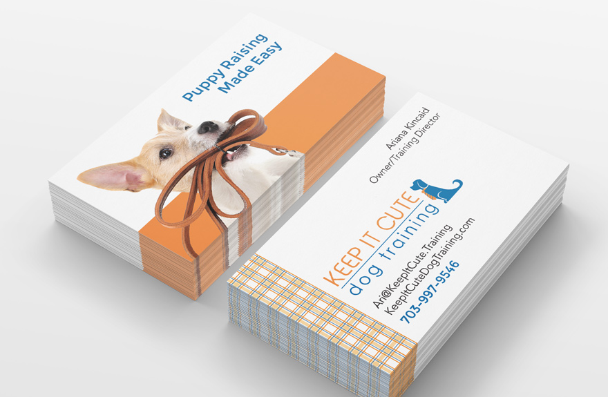 Keep It Cute business cards
