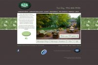 Williams and Williams Landscaping website