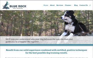 blue rock dog training