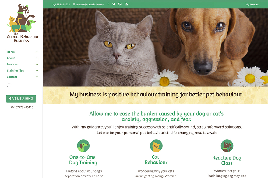 Animal Behaviour Business website