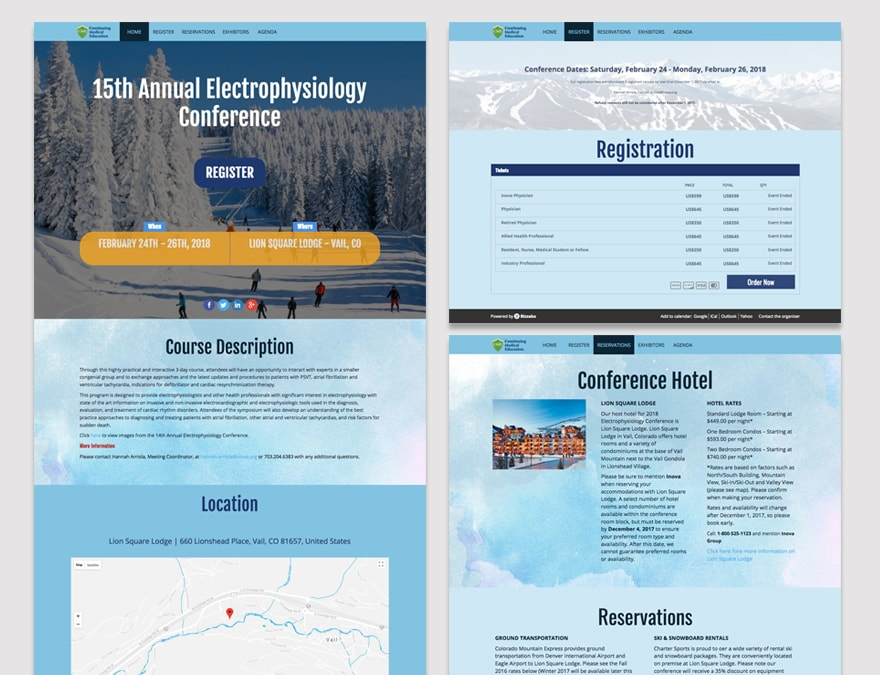 Inova electrophyiology conference website