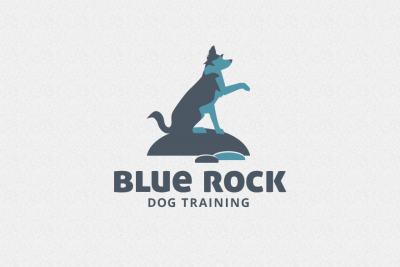 Blue Rock Dog Training logo