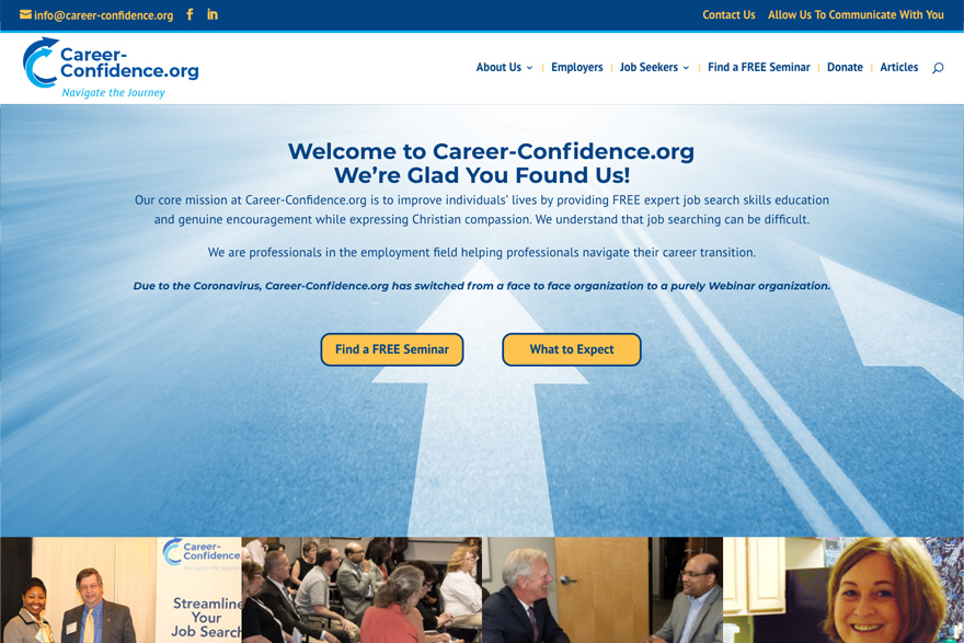 career-confidence.org website